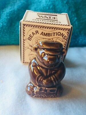 WADE Whimsie Locomotive SAM From BEAR AMBITIONS Collection,  Great Piece!