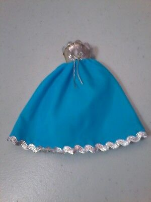 Vintage Dawn Doll Bluebelle Gown # 0722 GUC