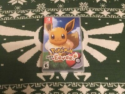 POKEMON  LETS GO EEVEE! (Nintendo Switch) - Brand New/Sealed