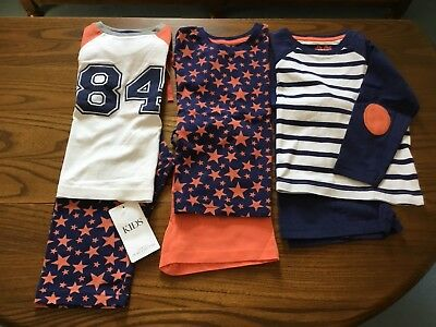 Marks And Spencer 3 Sets Boys Pyjamas Sets  Size Infant 11/2 -2 Years