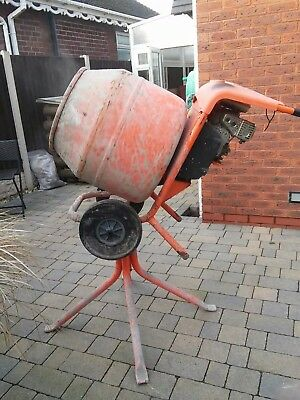 Belle Used petrol cement mixer with stand