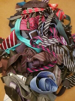 50 X Mens Smart Ties Job Lot Assorted Styles Xmas Christmas Gift