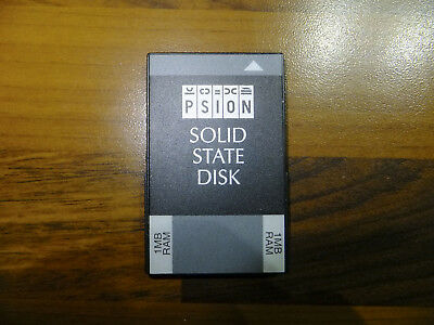 PSION Series 3 3a 3c 1MB RAM SSD Memory Expansion Card Slot