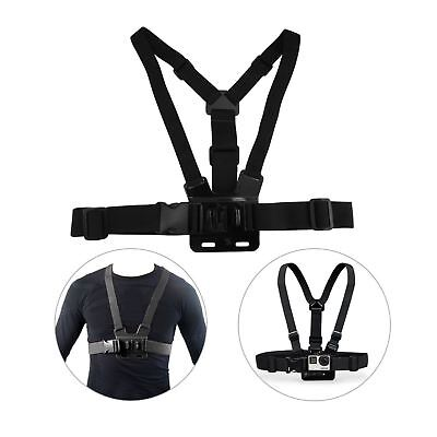 New Adjustable Chest Strap For Go Pro Camera Elastic Mount Hero 2 3 3+ 4 5 6 NF