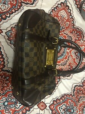 50d7de454af1 LOUIS VUITTON BERKELEY Damier Ebene Hand Bag N52000 LV Purse ...