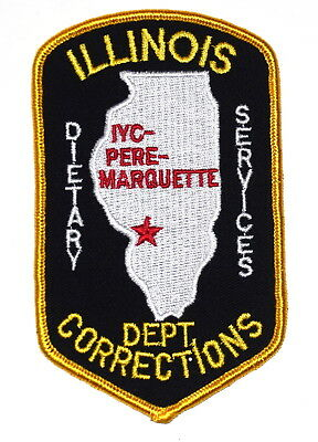 ILLINOIS  - CORRECTIONS - PERE-MARQUETTE IYC  IL Police Patch IL YOUTH CENTER ~