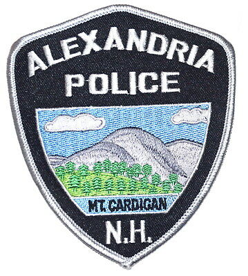 ALEXANDRIA NEW HAMPSHIRE NH Sheriff Police Patch MOUNT CARDIGAN CLOUDS ~