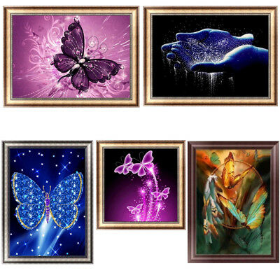 Abstract Butterfly 5D Diamond Painting DIY Embroidery Cross Stitch Home Decor