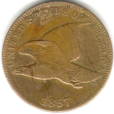 1857 Flying Eagle cent SNOW collection 20 coins