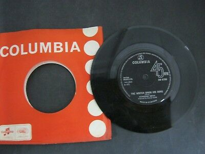 """Vinyl Record 7"""" Single HURRICANE SMITH THE WRITER SINGS HIS SONG (P)"""