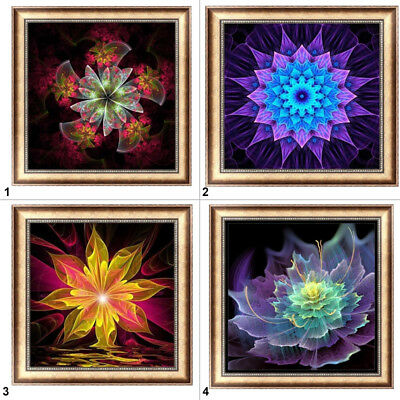 Abstract Flower 5D Diamond Painting DIY Embroidery Cross Stitch Home Decor Craft