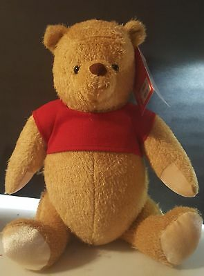 "Disney Parks jointed Winnie the Pooh from Christopher Robin 17"" Plush."