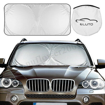 Car Foldable Sun Shade Windshield Visor Window Heat Reflective Folding Block