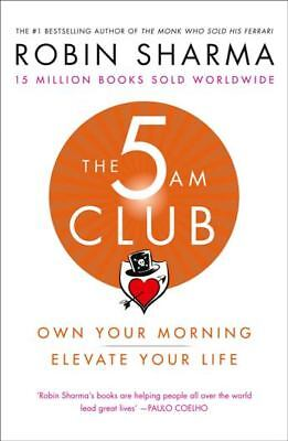 The 5AM Club by Robin Sharma NEW