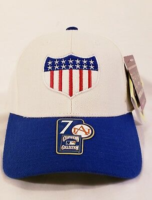 0914f1c8c American Needle 1913 New York Giants World Tour Cooperstown Fitted Size-7