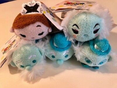 Haunted Mansion Tsum Tsums lot Hitchhiking Ghosts, Madame Leota, Maid NWT 3.5""