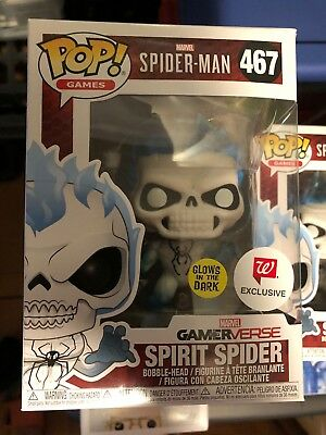 Funko Pop! Spirit Spider Glow In The Dark Walgreens Exclusive GamerVerse #467