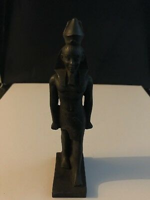 Rare Large Ancient Egyptian Faience Amenhotep III  (1388 - 1351 BC )