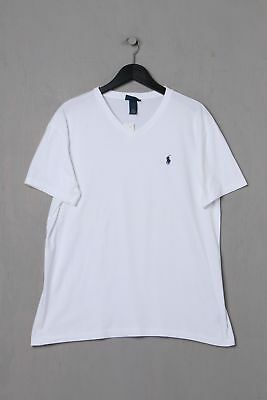 69341d3be8af18 POLO BY RALPH Lauren Basic-T-Shirt M weiß - EUR 21