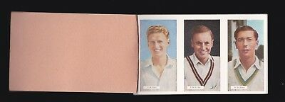 Famous County Cricketers - For Sale Is A Nss 1958 Trade Card Set
