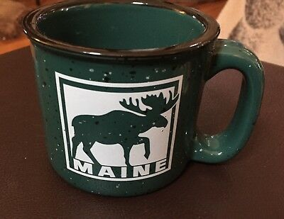Maine Moose Stoneware Coffee Mug