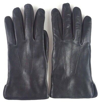 the mens store bloomingdales Leather Gloves cashmere italy small