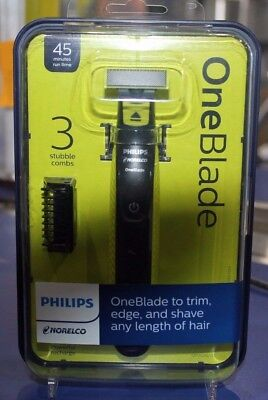 Philips Norelco OneBlade QP2520/71 Cordless Men's Electric Shaver NEW FKT
