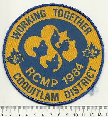 Scouts Canada Coquitlam District Working Together Badge