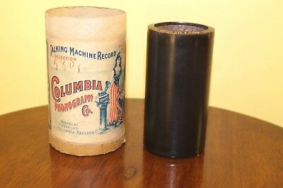 Antique Columbia Wax Cylinder 1468 Come Josephine In My Flying Machine