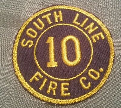 South Line Engine 10 Fire Patch