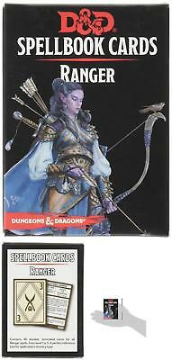 Dungeons And Dragons Card Deck DD Spellbook Game Cards Handbook Ranger Players