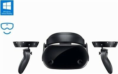 Samsung HMD Odyssey Windows Mixed Reality Headset with 2 Wireless Controllers