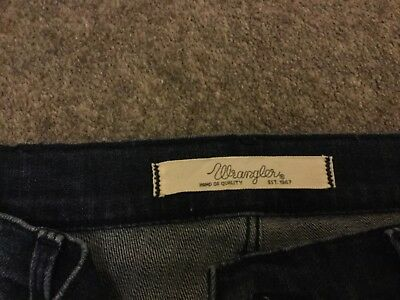 2cda49d016e WRANGLER TINA 30X34 Dark Blue Nearly New Jeans Ladies - £20.00 ...