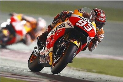 photo MARC MARQUEZ  honda