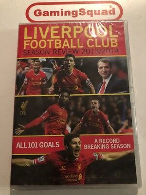 Liverpool Football Club 2013-14 NEW DVD, Supplied by Gaming Squad