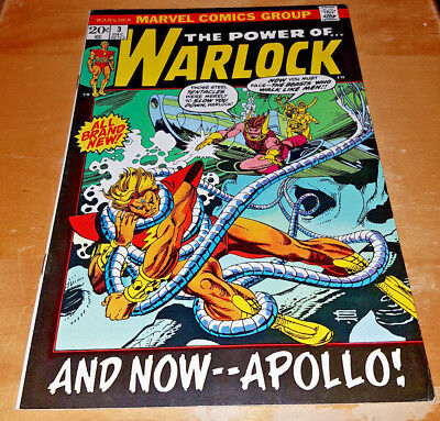 Marvel The Power Of Warlock #3 Very Nice Higher Grade Bronze Age Free Shipping