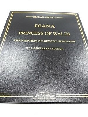 Danbury Mint Diana Princess of Wales 10th Anniversary 22ct gold rare collectable