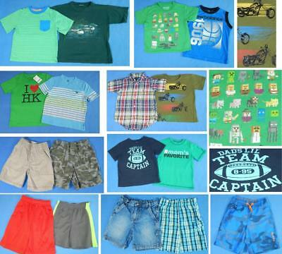 NICE Lot 17pc boys Spring Summer clothing Sz 4, 4T  Tops shorts FAST SHIP~2S18