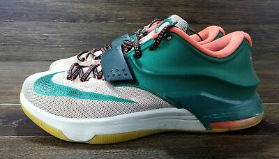 timeless design 6d203 bb9db Nike KD 7 VII Easy Money Kevin Durant Sneakers Size 9.5 653996-330  Basketball