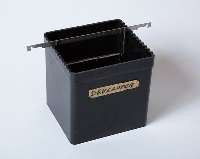 FR Adjustable Cut Film Pack Developing Tank - Up to 4x5 Size