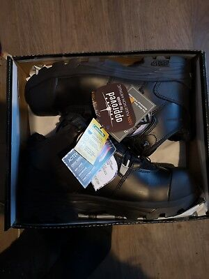 a8c84104783 ROCK FALL TOMCAT TC3000 Rhyolite black metatarsal S3 safety boot with  midsole
