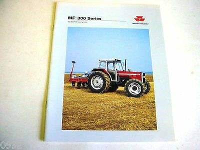 Massey Ferguson 300 Series Farm Tractor, 16 Pages,1998 Brochure       m#