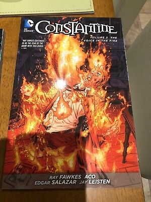 Dc Graphic Novel Constantine Vol.3 The Voice In The Fire