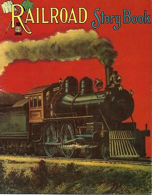 Railroad Story Book By Marrimack publishing Corp