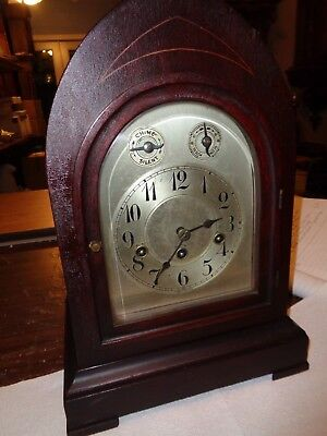 Antique-Junghans-Westminster Chime-Mantle Clock-Ca.1915-To Restore-#P920