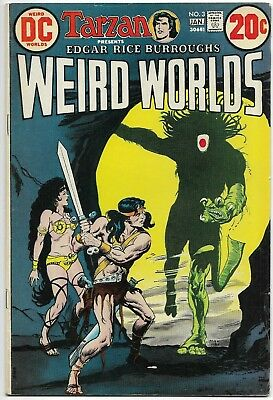 WEIRD WORLDS #3 - JOHN CARTER, WARLORD OF MARS DC Comics 1973 TARZAN