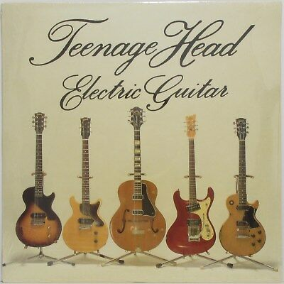 TEENAGE HEAD Electric Guitar  LP Sealed Daniel Lanois Post Punk Garage Powerpop