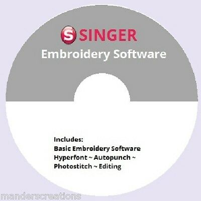 Winter Savings: FREE Singer Futura Software~with purchase of FONTS package