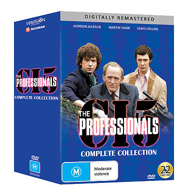 BRAND NEW The Professionals : Complete Collection (DVD, 22-Disc Set) *PREORDER