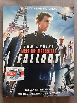 Mission: Impossible Fallout Blu-ray + DVD + Digital